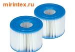 INTEX Картридж для надувных спа-бассейнов (2 шт.)