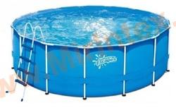 Summer Escapes Р20-1652-Z Каркасный бассейн 488х132 см (лестница, подстилка, тент)