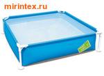 Bestway Бассейн детский каркасный 163х163х35,5 см (голубой)