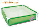Bestway Бассейн детский каркасный 163х163х35,5 см (зеленый)