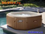 "INTEX Надувной бассейн-джакузи ""PureSpa Bubble Therapy"" 201х71см"
