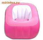 "Bestway Кресло надувное ""Comfi Cube"" 74х74х64 см (розовое)"