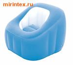 "Bestway Кресло надувное ""Comfi Cube"" 74х74х64 см (голубое)"