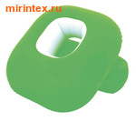 Bestway Кресло надувное флокированное Nestair 84х84х74 см зеленое