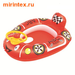Bestway Круг Патрульная машина, красная 71х56 см (с трусами)
