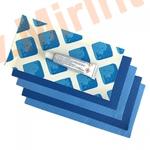 INTEX 10114 Ремонтный набор для чаши бассейна, 7 латок с клеем, синие.