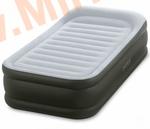 Надувные кровати INTEX Deluxe Pillow 99х191х42 см, с встроенным насосом 220В