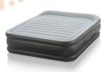 Надувные кровати INTEX Deluxe Pillow 152х203х42 см, с встроенным насосом 220В