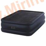 Надувные кровати INTEX Raised Downy 152х203х56 см, с встроенным насосом 220В