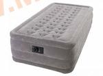 Надувные кровати INTEX Ultra Plush 99х191х46 см, с встроенным насосом 220В