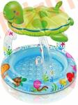 """INTEX Детский бассейн """"Черепаха"""" с навесом 102х107 см (от 1 года)"""