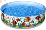 "INTEX Бассейн детский ""Океанский риф"" жёсткий 244х46 см (от 3-х лет)"