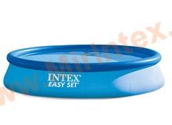 INTEX 28143 Бассейн с надувным кольцом Easy Set 3.96 х 0.84 м.(без фильтр-насоса)