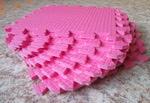 Мягкий детский конструктор (Розовый) 33х33х0.9 см