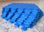 Мягкий детский конструктор (Синий) 33х33х0.9 см