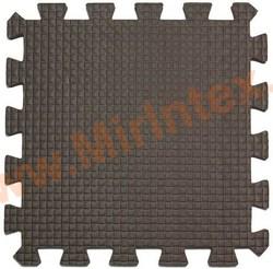 Напольное покрытие Мягкий детский конструктор (Коричневый) 33х33х0.9 см