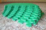 Мягкий детский конструктор (Зелёный) 33х33х0.9 см