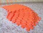Мягкий детский конструктор (Оранжевый) 33х33х0.9 см