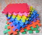 Мягкий детский конструктор (Радуга) 33х33х0.9 см