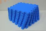 Мягкий детский конструктор (Синий) 33х33х1,8см