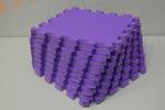 Мягкий детский конструктор (Фиолетовый) 33х33х1,8см