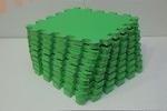 Мягкий детский конструктор (Зелёный) 33х33х1,8см