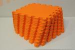 Мягкий детский конструктор (Оранжевый) 33х33х1,8см