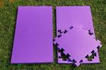 """Будо-мат """"С креплением ласточкин хвост"""" 50х50х2,5см (Фиолетовый)"""