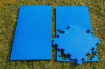 """Будо-мат """"С креплением ласточкин хвост"""" 50х50х1,8см (Синий)"""