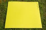 "Будо-мат ""С креплением ласточкин хвост"" 75х75х1см (Жёлтый)"