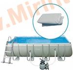 INTEX Чаша для прямоугольных каркасных бассейнов ULTRA FRAME 975х488х132см