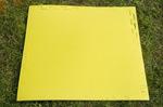 "Будо-мат с креплением ласточкин хвост 100х100х1см ""Жёлтый"""