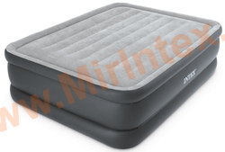 Надувные кровати INTEX ESSENTIAL REST AIRBED 152х203х51 см,с встроенным насосом 220В