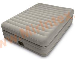Надувные кровати INTEX Prime comfort elevated airbed 152х203х51 см, с встроенным насосом 220В