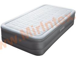 Надувные кровати INTEX PremAire Elevated Airbed 99х191х46 см,с встроенным насосом 220В