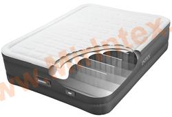 Надувные кровати INTEX PremAire Elevated Airbed 137х191х46 см, с встроенным насосом 220В