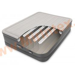 Надувные кровати INTEX Dream Support Airbed 152х203х46 см (с встроенным насосом 220В)
