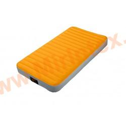 Надувные матрасы INTEX Super-Tough Airbed 99х191х20 см (c встроенным насосом на батарейках)