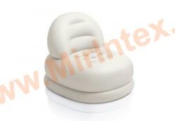 "INTEX Надувное кресло Mode Chair 84х99х76 см, ""белое"""