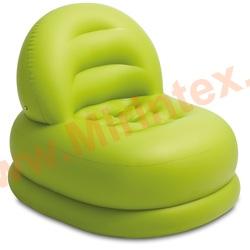 "INTEX Надувное кресло Mode Chair 84х99х76 см, ""лайм"""