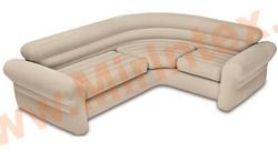 INTEX Надувной угловой диван Corner Sofa 257х203х76 см,(без насоса)