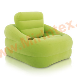 "INTEX Кресло надувное ""ACCENT CHAIR"" 97х107х71 см (лайм)"