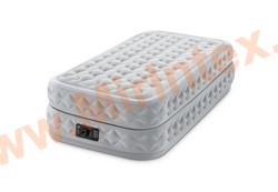 Надувные кровати INTEX Supreme Air-Flow Bed 99х191х51 см, с встроенным насосом 220В