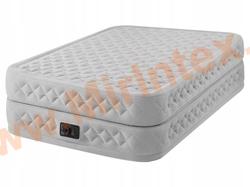 Надувные кровати INTEX Supreme Air-Flow Bed 152х203х51 см, с встроенным насосом 220В