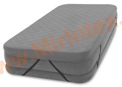 INTEX Наматрасник AIRBED COVER для надувных кроватей 99x191х10 см