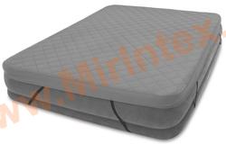 INTEX Наматрасник AIRBED COVER для надувных кроватей 152x203Х10 см