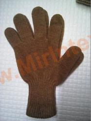 """Перчатки из верблюжьей шерсти """"светло-коричневые"""""""