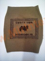 Пояс из верблюжьей шерсти вязанный