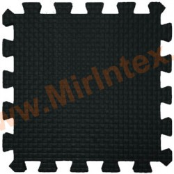 Мягкий детский конструктор (Чёрный) 33х33х0.9 см