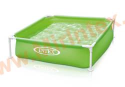 INTEX Каркасный бассейн детский Mini Frame Pool (зелёный)